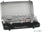 Outwell Gourmet Cooker 3-Burner Stove w/Grill