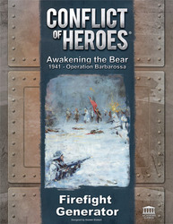 Academy Games Conflict of Heroes: Awakening the Bear - Firefight Generator Expansion