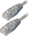 TrustWire U/UTP Cat.6 Cable 0.5m Γκρί (16109)