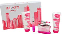 Sex And The City Love Eau de Parfum 100ml & Eau de Parfum 20ml & Shower Gel 200ml & Body Lotion 200ml