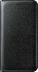 Samsung Flip Wallet Cover Black (Galaxy J1 2016)
