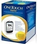 OneTouch Verio Test Strips 50τμχ & Mετρητής One Touch Verio