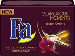 Fa Glamorous Moments Black Orchid Seductively Caring Cream Soap 103gr