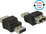 DeLock USB-A male - USB-A female (65640)