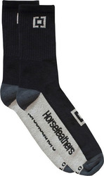 HORSEFEATHERS AXIOM 13 SOCKS BLACK