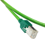Siemens U/FTP (STP) Cat.6 Cable 2m Πράσινο (6XV18502GH20)