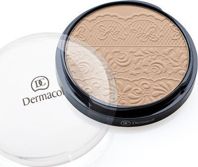 Dermacol Compact Powder with Lace 04 8gr