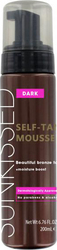 Sunkissed Self-Tan Mousse Dark Bronze 200ml