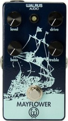 Walrus Audio Mayflower Mid-Range Overdrive with Tone Shaping