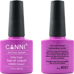 Canni Nail Art Color Coat 057 Elegant Purple