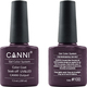 Canni Nail Art Color Coat 100 Violet Black
