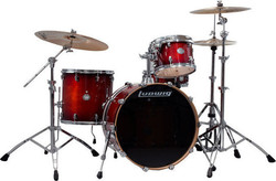 Ludwig Element Birch LCB422EXMW in Deep Brownburst
