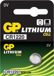 GP Batteries Lithium Cell CR1220 (1τμχ)