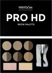 Freedom Pro Hd Brow Palette Fair Medium