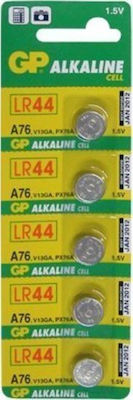 GP Batteries Alkaline Cell A76 LR44 (5τμχ)