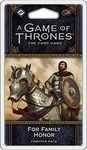Fantasy Flight A Game of Thrones: For Family Honor Chapter Pack