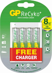 GP Batteries ReCyko USB Charger + 4x AA 2000mAh