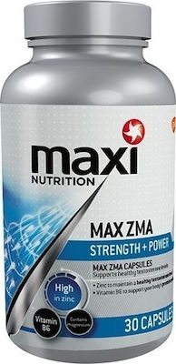 MaxiNutrition Max ZMA 30 κάψουλες