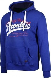 REPUBLIC MENS FLEECE TOPS - REM205-6215-ROYAL