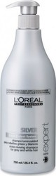 L'Oreal Professionnel Expert Serie Silver Shampoo For Grey & White Hair 750ml