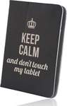 GreenGo Universal Case Keep Calm 7-8""