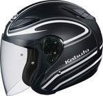Kabuto Avand II Staid Black/White