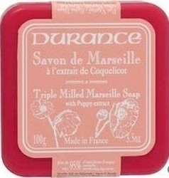 Durance Marseille Soap Poppy Extract 100gr