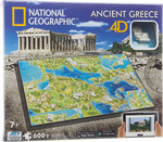 4D National Geographic: Civilizations Ελλάδα 600pcs (61002) Giochi Preziosi