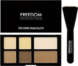 Freedom Make Up London London Pro Cream Strobe Palette Brush 10gr