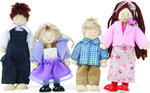 Le Toy Van Doll Family of 4 PO51W