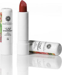 Garden of Panthenols Lip Balm Strawberry SPF15