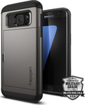 Spigen Slim Armor CS Gunmetal (Galaxy S7 Edge)