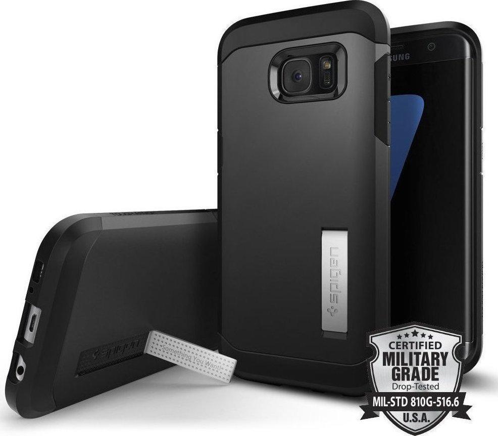 Spigen Samsung Galaxy S7 Edge Neo Hybrid Case For Black Pearl Menu Tough Armor