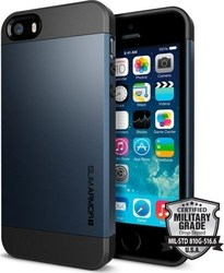 Spigen Slim Armor S Metal Slate (iPhone 5/5s/SE)