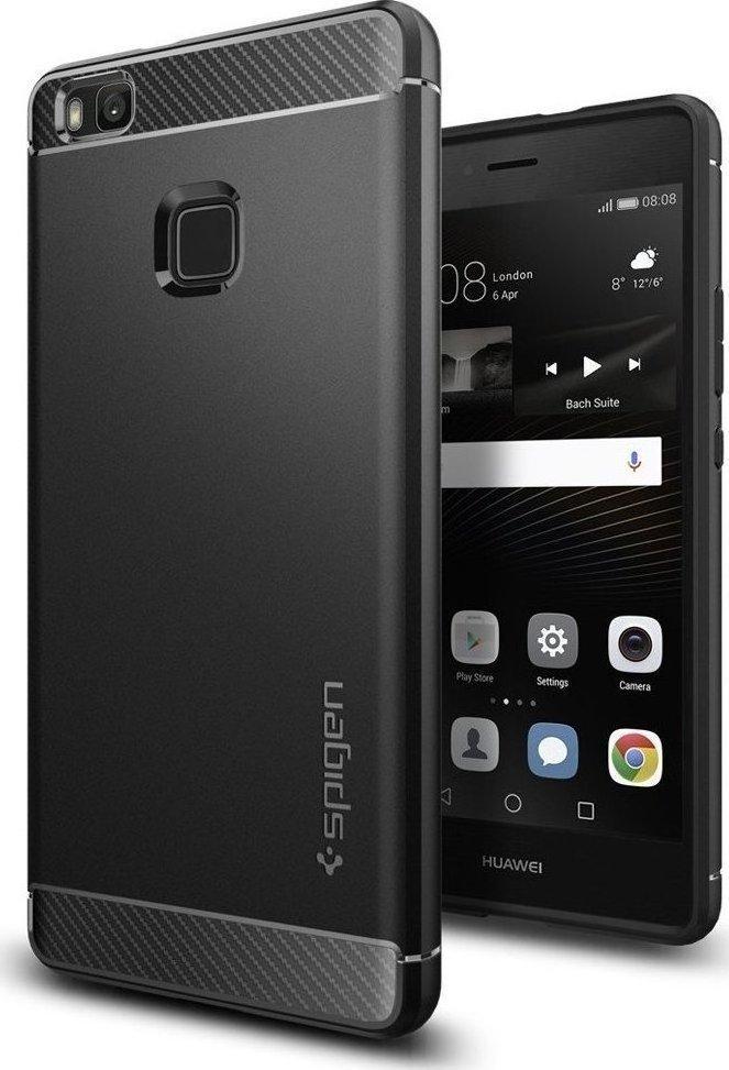 new arrival 555ea 60b5c Spigen Rugged Armor Black (Huawei P9 Lite)