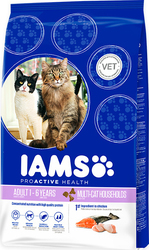 Iams Adult Multi-Cat Salmon & Chicken 15kg