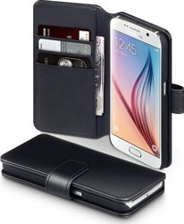 Terrapin Genuine Leather Wallet Black (Galaxy S6)