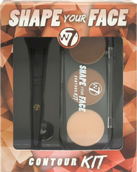 W7 Cosmetics Shape Your Face Contour Kit 6gr