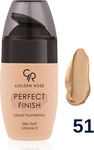 Golden Rose Perfect Finish Liquid Foundation 51 34ml