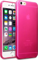 Terrapin TPU Gel & 6S Plus Transparent Pink (iPhone 6/6s Plus)
