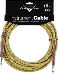 Fender Custom Shop Cable 6.3mm male - 6.3mm male 4.5m (099-0820-049)
