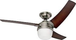 Hunter Eurus Brushed Nickel 50611