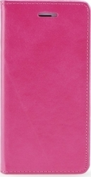 iSelf Leather Stand Book Samsung J5 2016 Pink Magnetic Closure