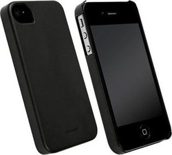 Krusell Back Cover Faceplate Biocover Black (iPhone 5/5s/SE)