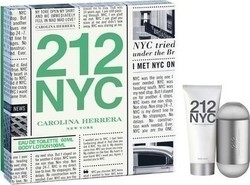 Carolina Herrera 212 NYC Eau de Toilette 100ml & Body Lotion 100ml
