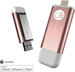 Adam Elements Iklips 64GB USB 3.0 Rose Gold