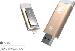 Adam Elements Iklips 32GB USB 3.0 Gold