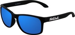 Northweek Bold Matte Black/Blue Polarized