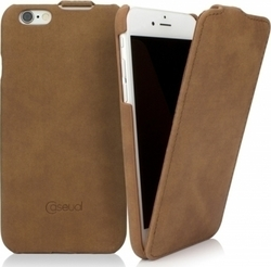 CASEual Leather Flip Vintage Sand (iPhone 6/6s)