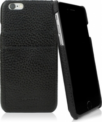 CASEual Leather Back Classic Black (iPhone 6/6s)